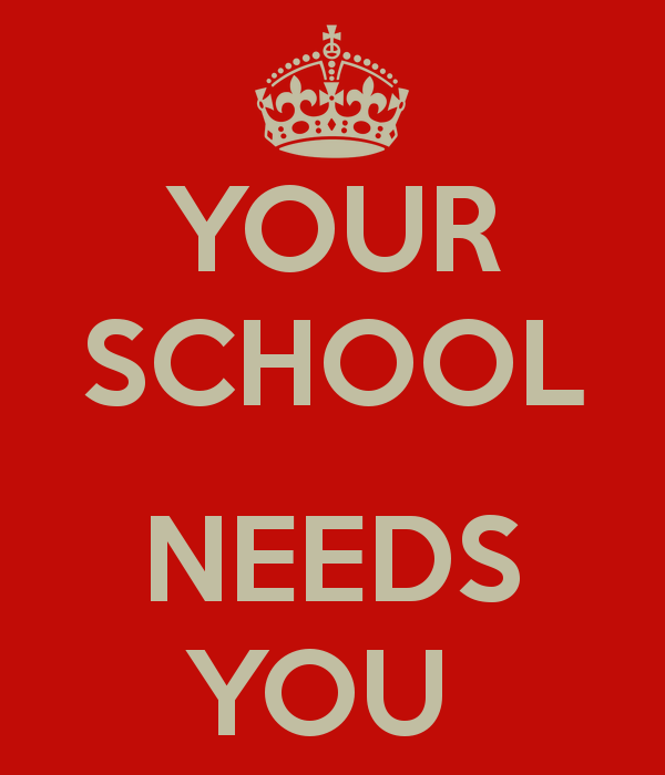 Image result for our school needs you